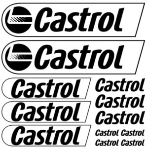 castrol stickerset
