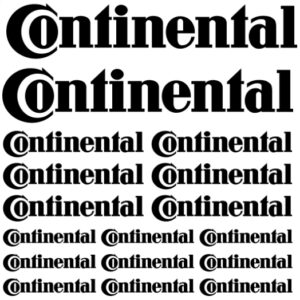 continental stickerset