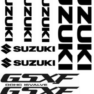 GSXF 1100 stickerset