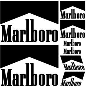 marlboro stickerset