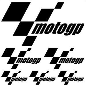 motoGP stickerset