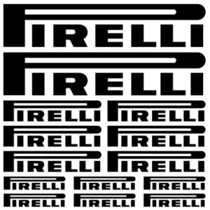 pirelli stickerset