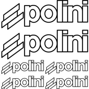polini stickerset