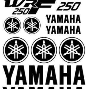 yamaha wrf250 stickerset