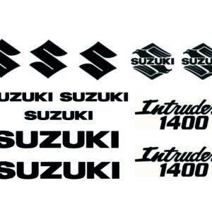 Suzuki intruder VS1400 stickerset