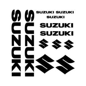 Suzuki stickersetje