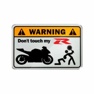 Warning, don't touch my R ( suzuki )