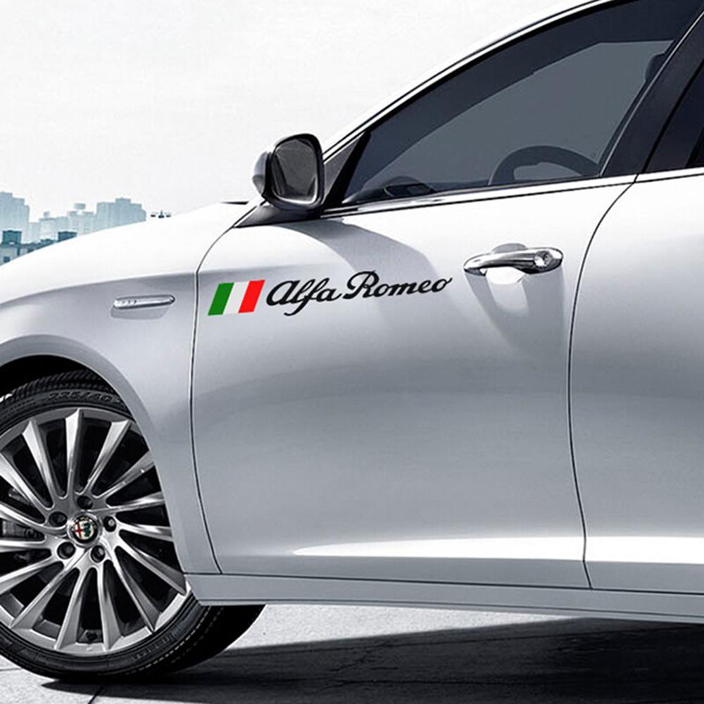 Alfa Romeo autosticker Tricolore