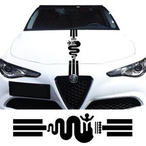 Alfa Romeo Striping motorkap