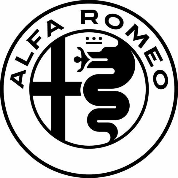 alfa romeo sticker logo