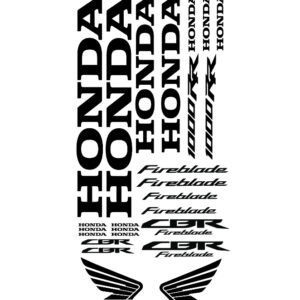 Stickerset Honda CBR1000rr Fireblade model 2017