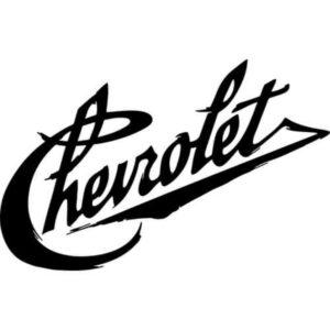 Chevrolet vintage sticker