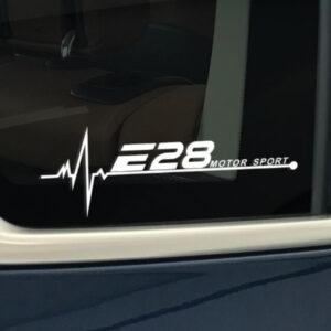 BMW e28 raamsticker