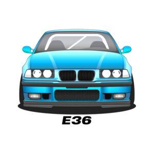 BMW e36 contour