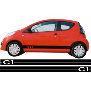 Citroën c1 striping