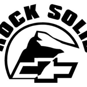 Chevrolet rock solid